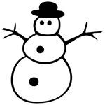 Groovy Snowman
