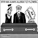 Allergic to Flowers Even when Dead