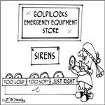 Goldilocks' Emergency Equipment