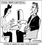 Frankenstein in Physical Therapy