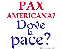 Pax Americana (Italian)