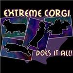 Extreme Corgi Does It All