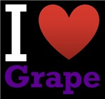 I Love Grape Dark 2