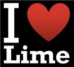 I Love Lime Dark 2