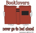 Book Lovers never go to bed alone!