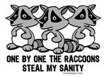 One By One The Raccoons