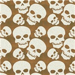 Skull Illustration Pattern Design
