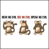 Hear no evil..