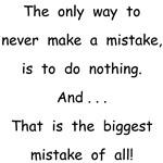 Make a Mistake