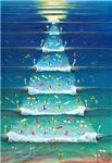 Christmas waves card
