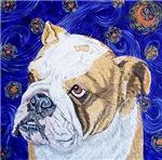 Starry Night Bulldog