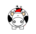 Holiday Cow