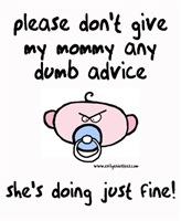 Rude lil dude dumb advice