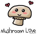 Cute mushroom love