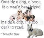 Outside a Dog