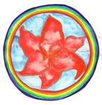 Sacral Chakra Flower Mandala