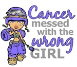 Combat Girl Stomach Cancer