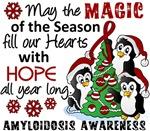 Christmas Penguins Amyloidosis Gifts and Shirts