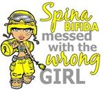 Combat Girl 1 Spina Bifida Merchandise