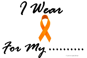 I Wear Orange 1 Leukemia Shirts & Gifts