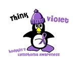Winter Penguin 2 Hodgkin's Lymphoma Shirts Apparel