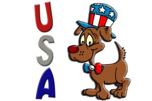Patriotic Dog (USA)