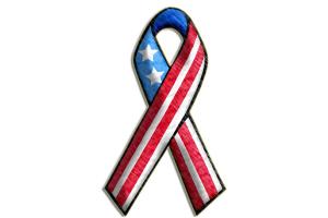 3D Flag Ribbon 1