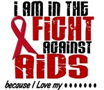 In The Fight AIDS Shirts Apparel Gifts