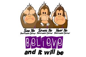 See Speak Hear No Pancreatic Cancer 3
