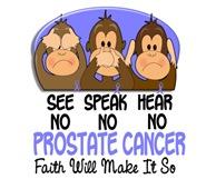 See Speak Hear No Prostate Cancer 1