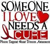 Needs A Cure Heart Disease Awareness Shirts Gifts