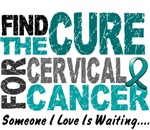 Find The Cure 1 Cervical Cancer Shirts & Apparel