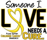 Needs A Cure 2 Childhood Cancer Shirts & Apparel