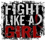 Licensed Fight Like a Girl 31.8 Head Neck Cancer