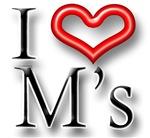 I Heart M Names