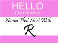 Names That Start With R