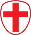 cross and shield