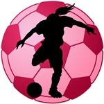 soccer ball(woman)