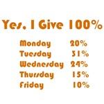 I Always Give 100%