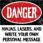Personalized Danger Sign