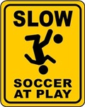 Soccer At Play sign