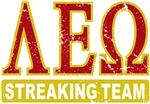 Lambda Epsilon Omega Streaking Team