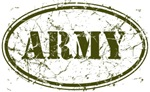 Distressed ARMY Oval