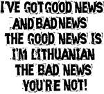 Good News and Bad News Lithuanian
