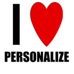 Personalized I Love...