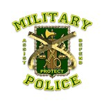 US Army Military Police Gold