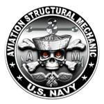 USN Aviation Structural Mechanic Skull