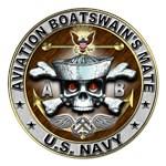 USN Aviation Boatswains Mate Skull AB