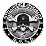USCG Intelligence Specialist Skull IS