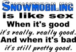 Snowmobiling is like Sex